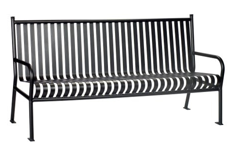 6 commercial steel bench