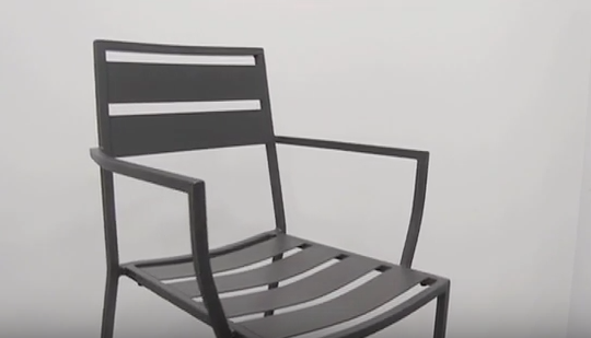Alexa Aluminum Outdoor Chair