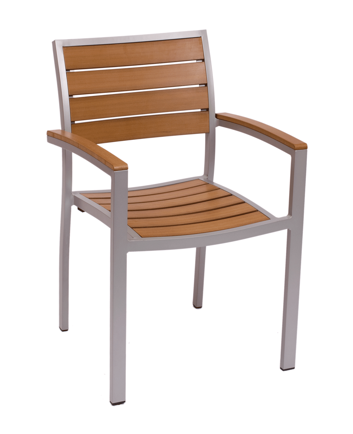 Largo Synthetic Teak Chairs by BFM