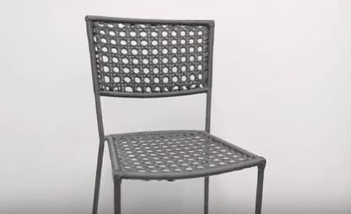 Chianti Outdoor Metal Mesh Chair by BFM