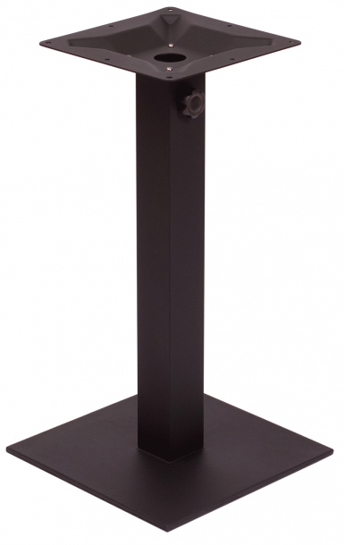 outdoor table bases for synthetic teak table top