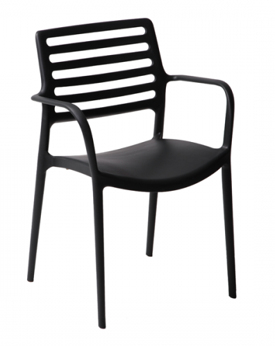 Bella outdoor restaurant arm chair