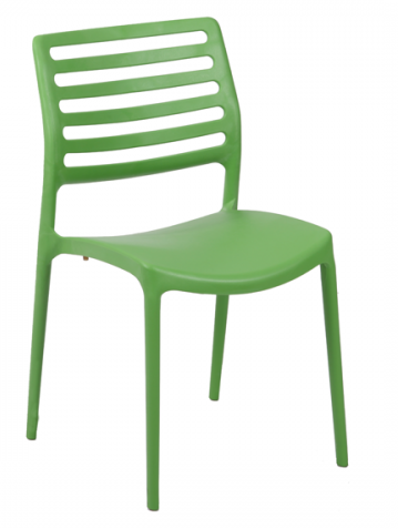 Green Bella Side Chair