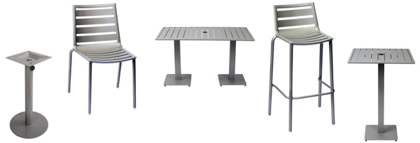 aluminumoutdoorrestaurantfurniture