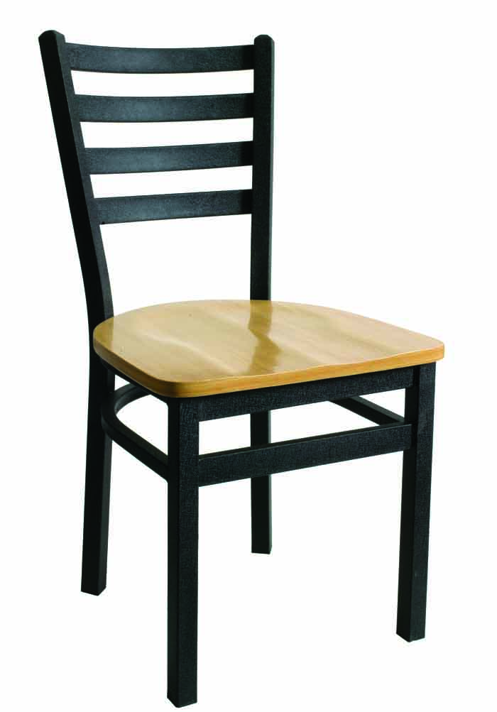 BFM Lima Ladder Back Indoor Restaurant Chair