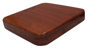 BFM 30 x 30 Square Cherry Resin Table Top
