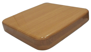 BFM 30 x 30 Square Natural Resin Table Top