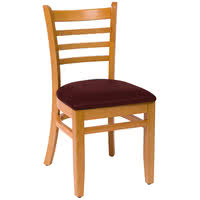 BFM Burlington Ladder-Back Wood Chair