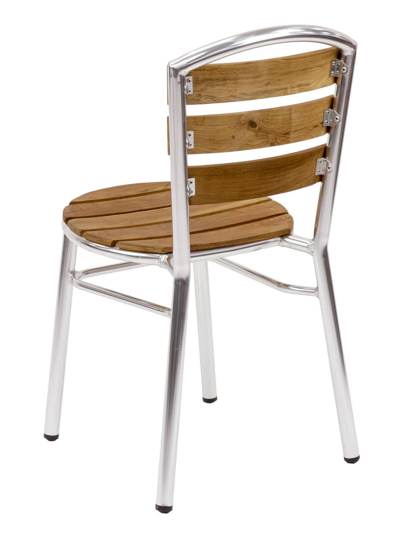 Prime Florida Seating Al 308 Silver Teak Restaurant Side Chair Inzonedesignstudio Interior Chair Design Inzonedesignstudiocom