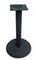 BFM Bolt-on Plate Round Table Base Bar Height