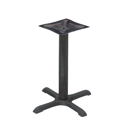 BFM Bolt-on Plate Cross Table Base Dining Height