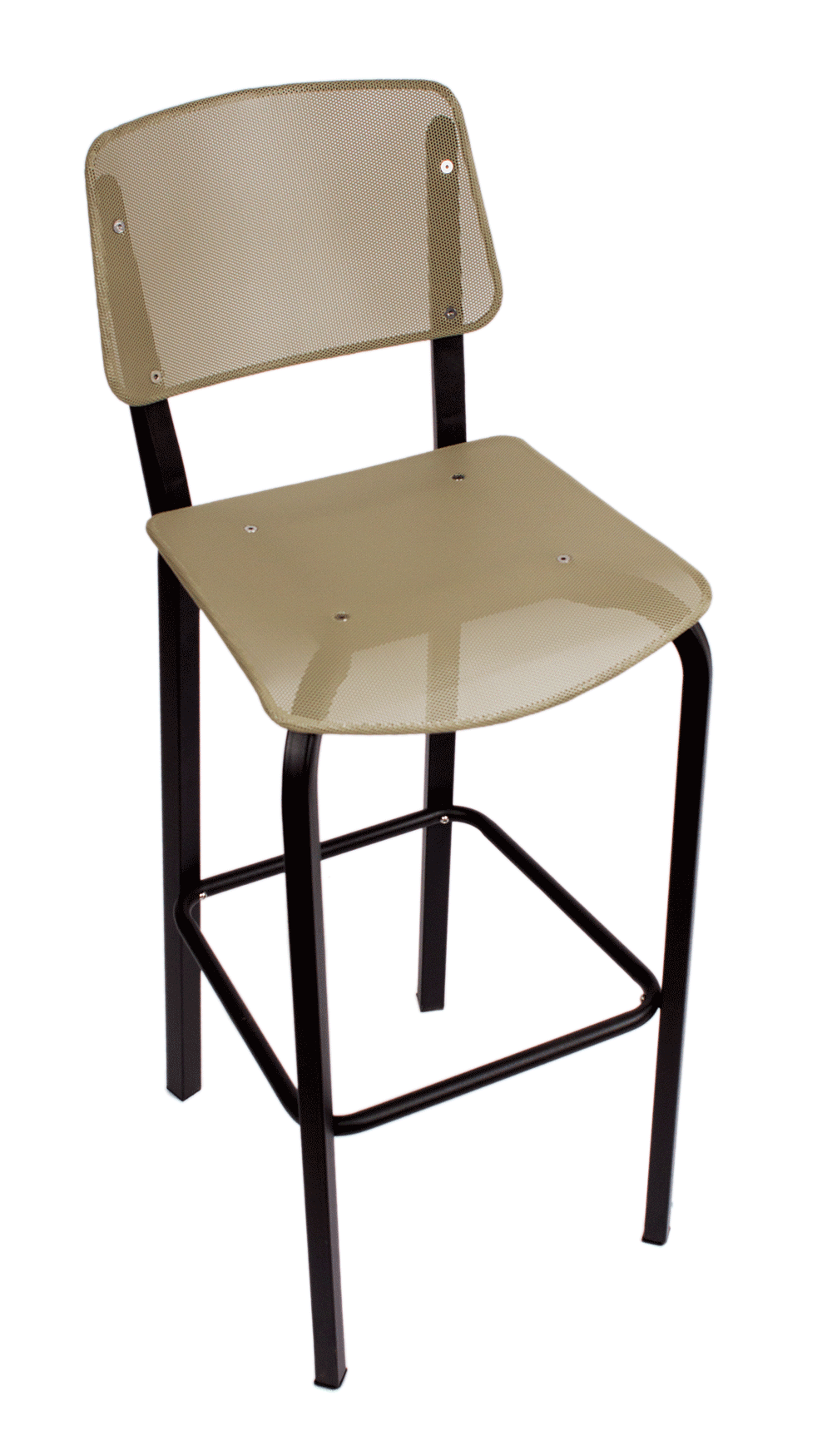 BFM-DV590 Devon Steel Indoor Restaurant Barstool