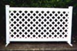 Lattice Style PVC Panel 6' x 42