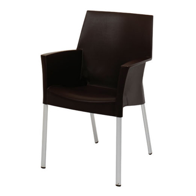 Luna Dining Chair Black