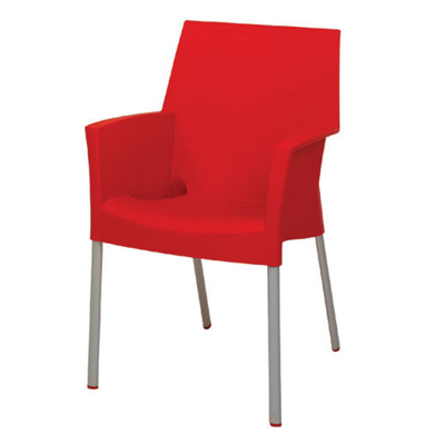 Luna Dining Chair Red