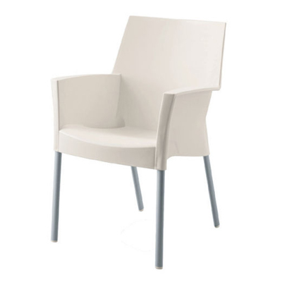 Luna Dining Chair White