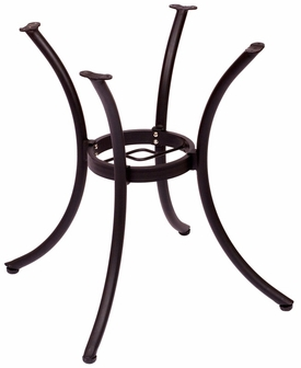 BFM Martinique Table Base Dining Height Black Powder Coat