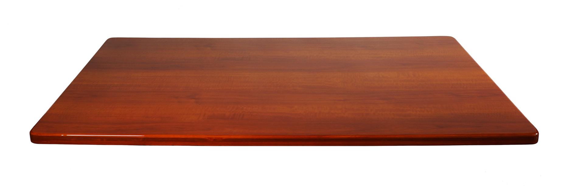 Merveilleux BFM Resin Table Top 30x60 Cherry