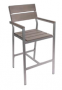 Seaside-synthetic-teak-gray-arm-barstool
