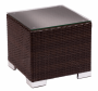 BFM Aruba Outdoor Wicker Side Table