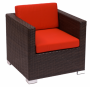 BFM Aruba Outdoor Wicker Arm Chair