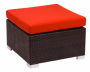 BFM Aruba Outdoor Wicker Ottoman