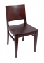BFM Dover Beechwood Indoor Restaurant Chair