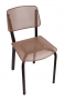 BFM-DV490 Devon Steel Indoor Restaurant Chair