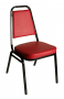 BFM Montour Stacking Vinyl Seat Banquet Chair