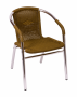 BFM Madrid Armchair Aluminum frame, synthetic wicker