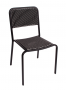 BFM Rio Stacking Aluminum Side Chair