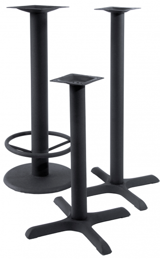 BFM Seating BFM Standard Indoor Commercial Table Bases - Commercial table bases